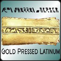 Gold Pressed Latinum logo
